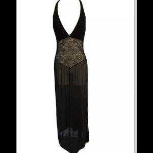 Victoria's Secret Halter Nightgown Slit